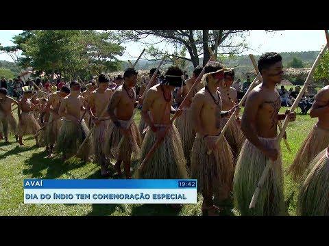 Dia do Índio tem comemoração especial em aldeia de Avaí