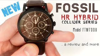 Fossils New Hybrid Smartwatch With E-Ink Display - Collider HR Review!