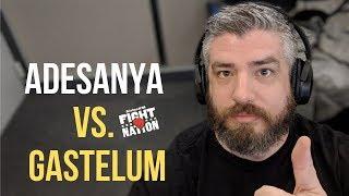 Israel Adesanya vs. Kelvin Gastelum at UFC 236! | SiriusXM | Luke Thomas