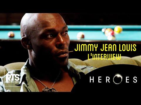 Jimmy Jean Louis l'acteur d'Heroes dans Carré Vip