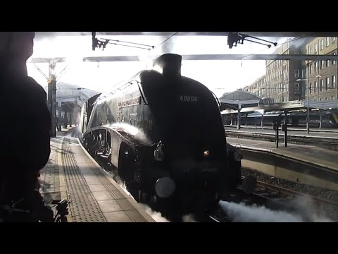 60009 'Union of South Africa' at London Paddington with 'The…