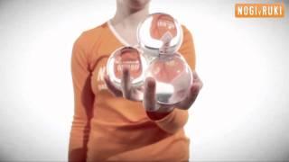 Смотреть онлайн Базовый урок по контактному жонглированию