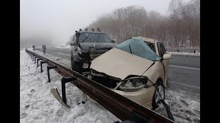 ВИДЕО АВАРИЙ ДТП АВТОМОБИЛЕЙ И МОТО СНЯТЫХ НА ВИДЕОРЕГИСТРАТОР Car Crash Channel №12
