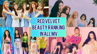 Red Velvet Beauty Ranking In All MV [Umpah Umpah   Happiness]