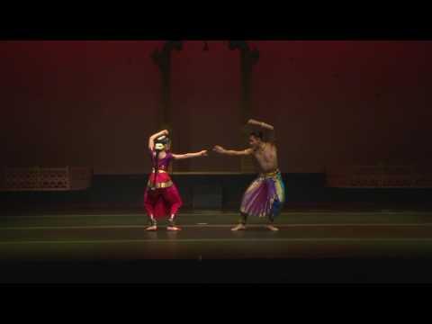 Arangetram Imran & Kimberly: Varnam Angayar Kanni