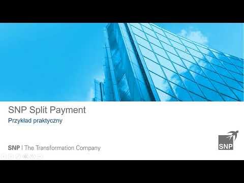 SNP Split Payment – obsługa płatności podzielonej bezpośrednio w SAP