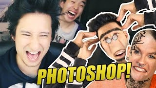 Youtuber Photoshoppen | Julien Bam