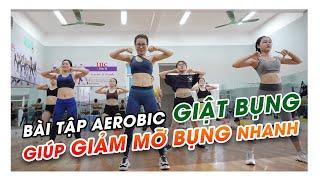 Aerobic Giật Bụng Giúp GIẢM MỠ BỤNG Nhanh - Inc Dance Fit
