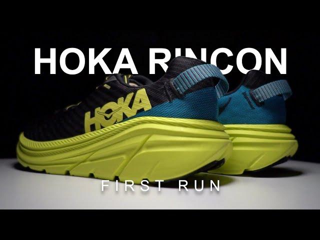Hoka Rincon - First Run