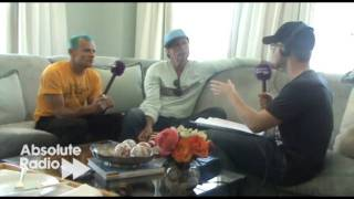 Red Hot Chili Peppers: Interview