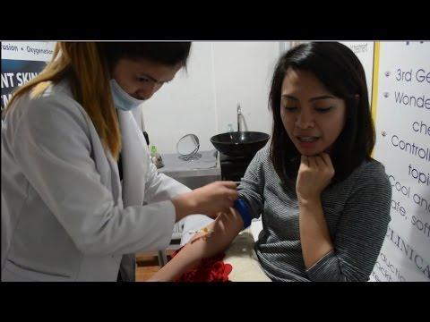 Lymphatic paagusan massage para sa pagbaba ng timbang bago at pagkatapos ng