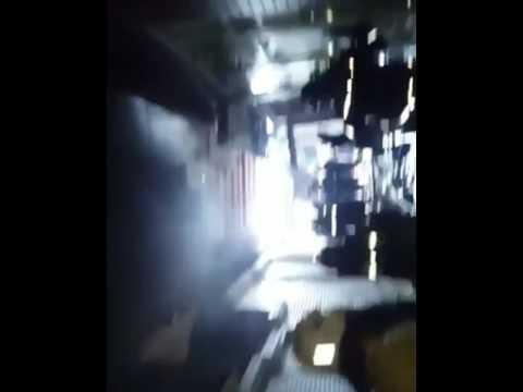 Трое в масках ранили охранника детского садика и подожгли простыни и полотенца