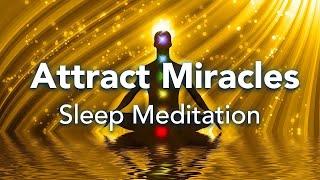 Geführte Schlafmeditation, zieht Wunder in allen Bereichen Ihres Lebens an
