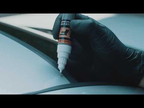 HYUNDAI MB3 - BLACK BEAN Korektorius įbrėžimų taisymui + Lakas 15 ml kaina ir informacija | Automobiliniai dažai | pigu.lt