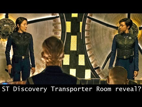 Star Trek Discovery Transporter Room Reveal? (Trekyards Discussion) | MTW