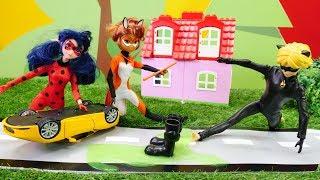 La venganza de Cat Noir. Las muñecas de LadyBug. Videos para niñas