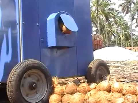 Coconut Dehusker Machine 2HP