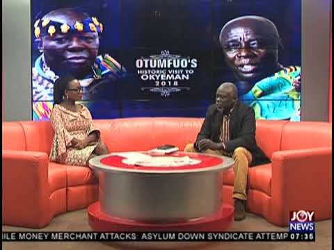 75th Anniversary Of Ofori Atta   AM Talk on JoyNews 23 8 18