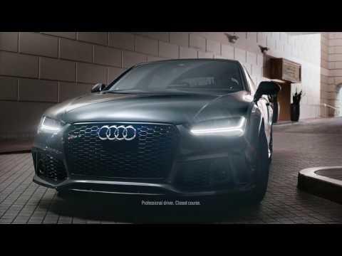 Audi  RS7 Performance Лифтбек класса A - рекламное видео 1