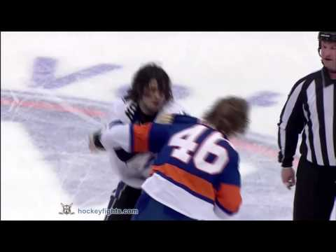 Matt Martin vs. Nate Thompson