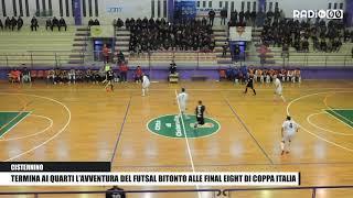 Termina ai quarti l'avventura del Futsal Bitonto alle Final Eight di Coppa Italia