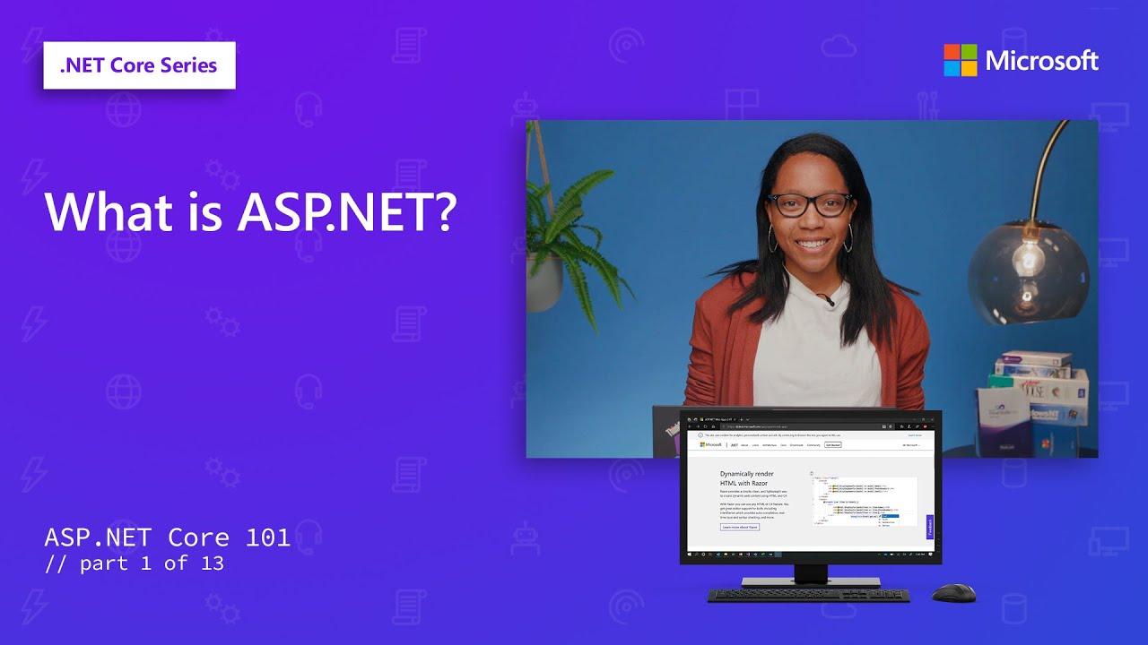 Video of What is ASP.NET? ASP.NET Core 101 screenshot