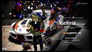 Gran Turismo SPORT Online Road to Trophy, Record de victorias, 35 Victorias, C.B. Toyota GR Supra
