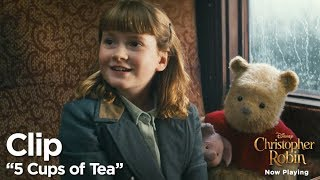 "Christopher Robin ""5 Cups of Tea"" Clip"
