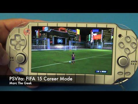 PSVita: FIFA 15 Career Mode Hands On