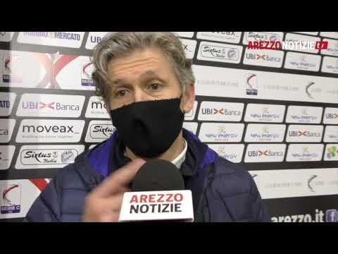 Arezzo-Feralpi Salò 2-3, il commento di mr Pavanel