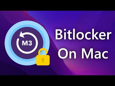 Open BitLocker-protected drives on Mac