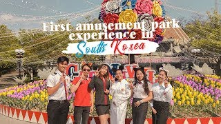 EXCHANGE STUDENT LIFE: FIRST AMUSEMENT PARK EXPERIENCE IN SOUTH KOREA