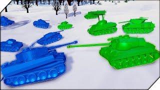 АМЕРИКАНЦЫ ЕДУТ НА БЕРЛИН - Игра Total Tank Simulator Demo 4. Танковый бой. Лучшие игры на пк.