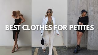 BEST CLOTHES FOR PETITES | Most Flattering Clothes for Girls 5ft and Under