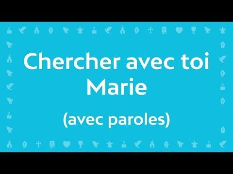 Jean-Claude Gianadda - Chercher avec toi Marie | Chant Chrétien avec paroles