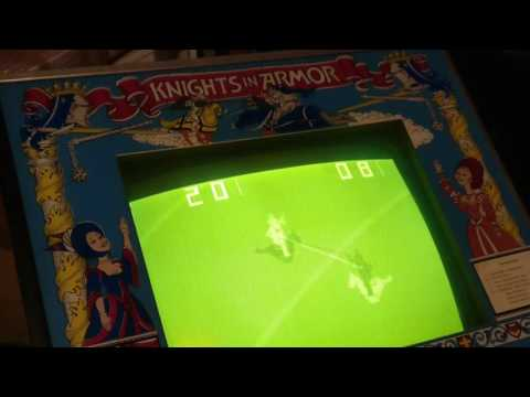 Knights in Armor (PSE, 1976) Arcade Video Game