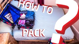 Study abroad: how to pack