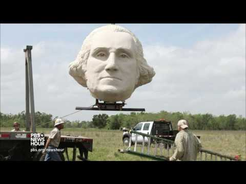 These giant sculptures bring new meaning to 'heads of state'