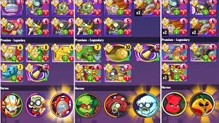 Plants Vs. Zombies: Heroes - NEW Plants And Zombies (180 Packs!)