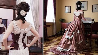 Bringing History To Life: 1875 Ball Gown