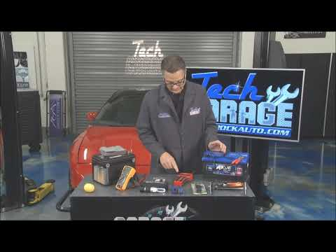 How Car Battery Works, Testing a Car Battery, AGM Batteries