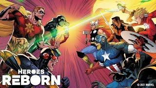 HEROES REBORN Event Trailer   Marvel Comics