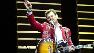 CHRIS ISAAK @ THE NOB HILL MASONIC AUDITORIUM LAST MONTH OF THE YEAR 12/13/2012