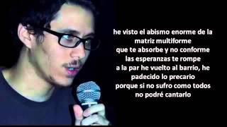 Canserbero   De Venezuela Con letra Nuevo 2014