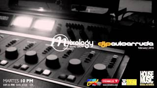 Paulo Arruda  Deep House Mixology Radio Show Feb 23th | 2016