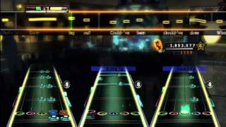Damned If I Do Ya (Live) - All Time Low Expert Full Band Guitar Hero 5