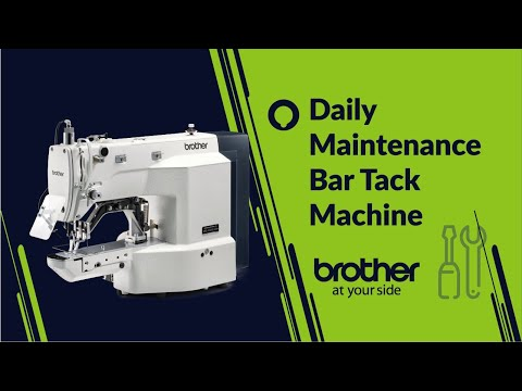 Daily maintenance of Bartack sewing machine KE-430HX