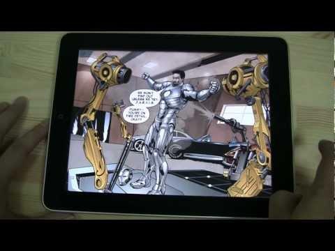 Vídeo do The Avengers-Iron Man Mark VII