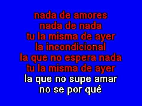 La incondicional Luis Miguel