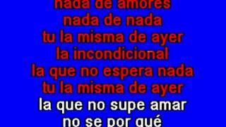 Luis Miguel   La Incondicional   Karaoke